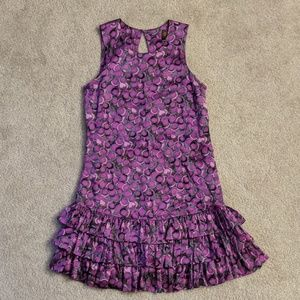 100% silk flapper dress
